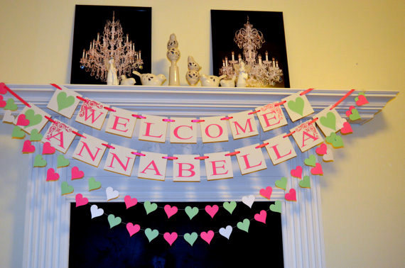Welcome Decoration For New Baby | Decoration For Home
