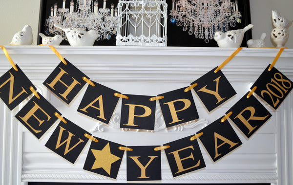 happy new year 2018 banner happy new year banner new years eve party decorations