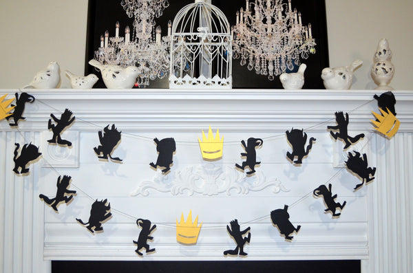 Where The Wild Things Are Party Supplies Wild One Garland Birthday