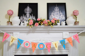 Merveilleux ITu0027S A GIRL Baby Shower Decorations, Gender Announcement Banner, Photo  Prop, Welcome Home