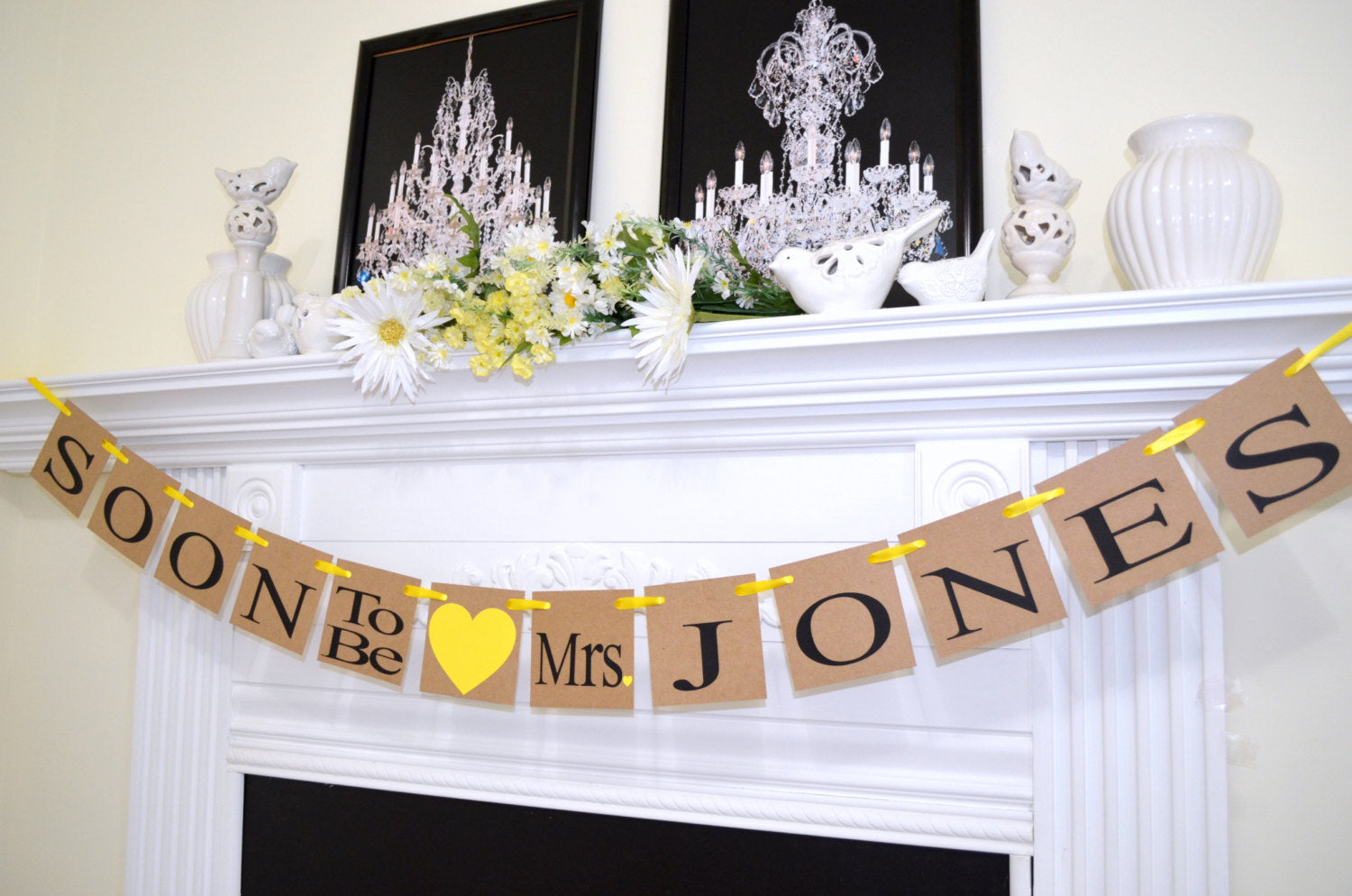 Soon to Be Mrs Banner, Soon to be banner, Engagement Party Decor ...