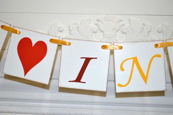 fall in love banner fall in love wedding banner fall in love