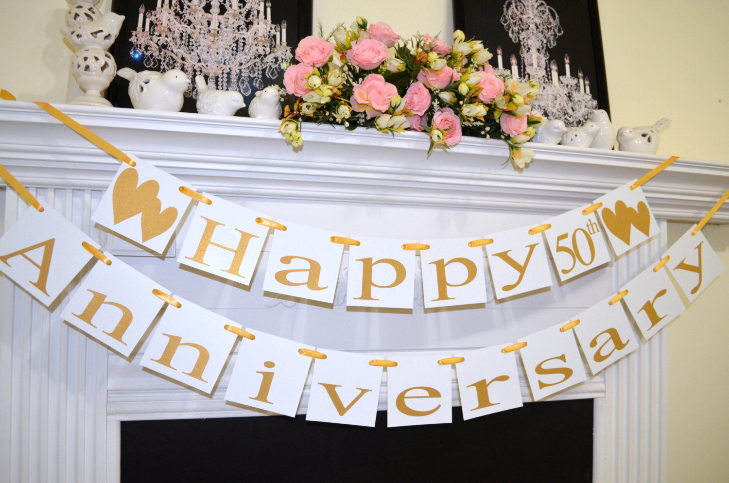 anniversary with table centerpieces decorations decor pictures cutouts pin roses and
