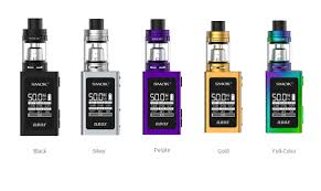 The SMOK QBOX 50W TC and TFV8 Baby Full Kit