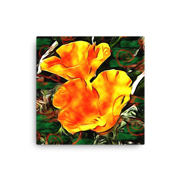 California Poppies - Canvas Print