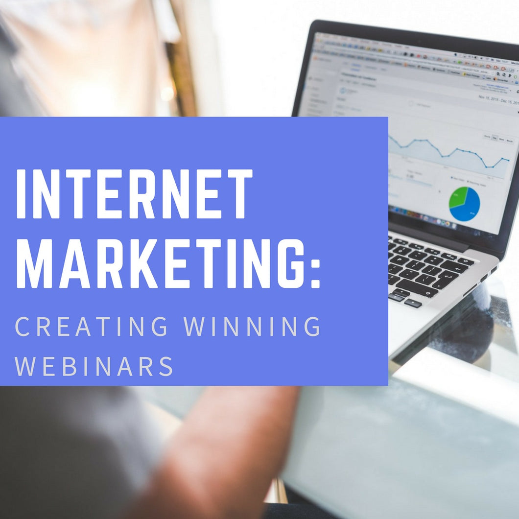 Internet Marketing: Creating Winning Webinars - Code Chiefs
