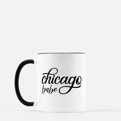 Chicago Babe Coffee Mug