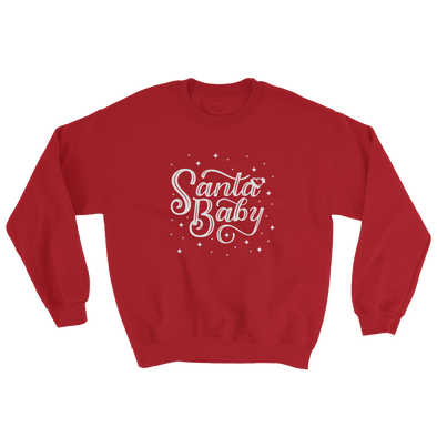Santa Baby Sweatshirt in Red