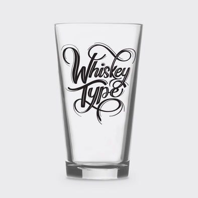 Whiskey Pint Glass