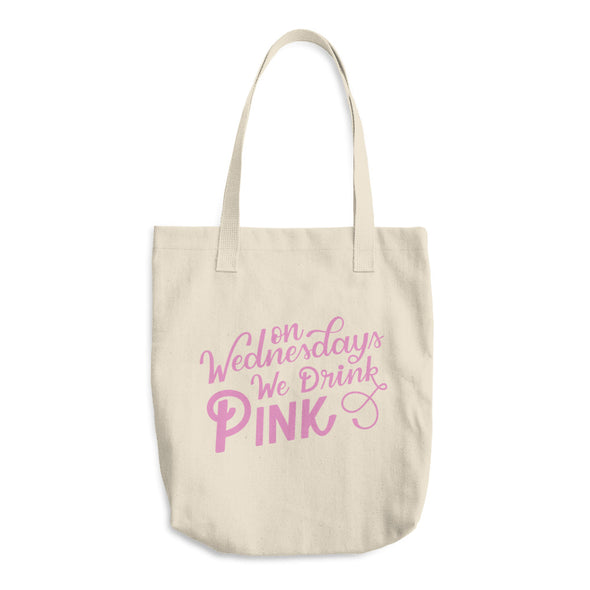 On Wednesdays We Drink Pink Tote Bag