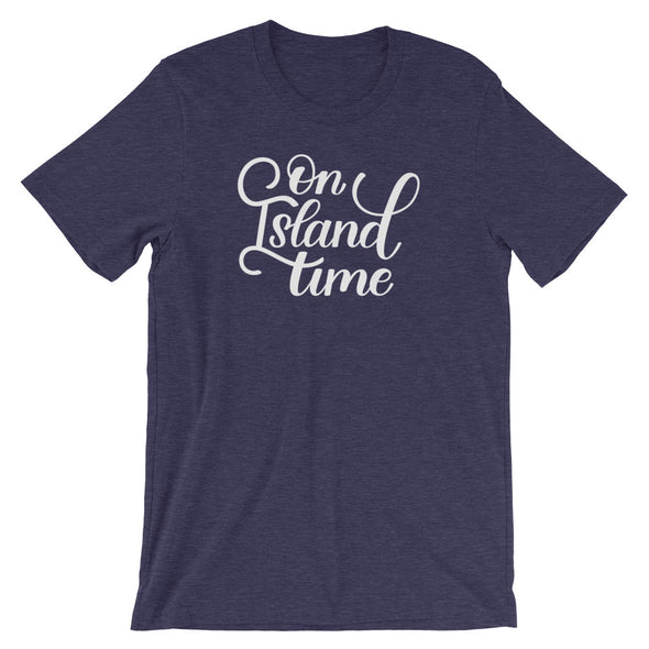 Navy On Island Time T-Shirt