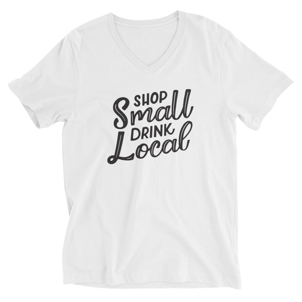 Shop Small Drink Local T-Shirt in White