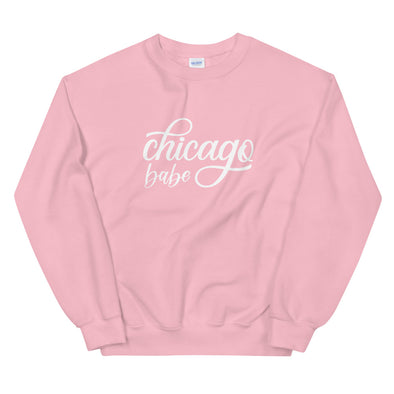 Pink Chicago Babe Sweatshirt