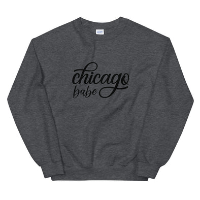 Chicago Babe Gray Sweatshirt