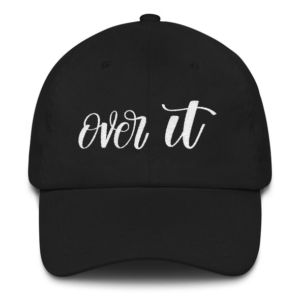 Black Over It Hat