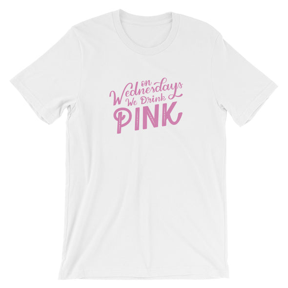 On Wednesdays We Drink Pink T-Shirt