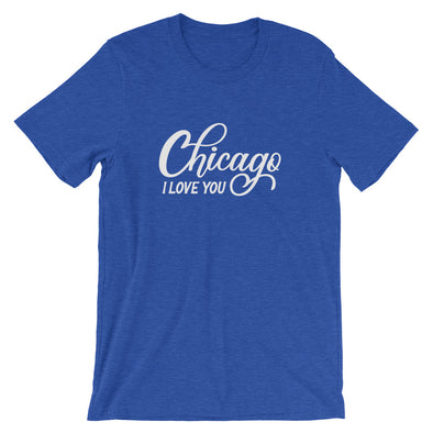 Blue Chicago I Love You T-Shirt