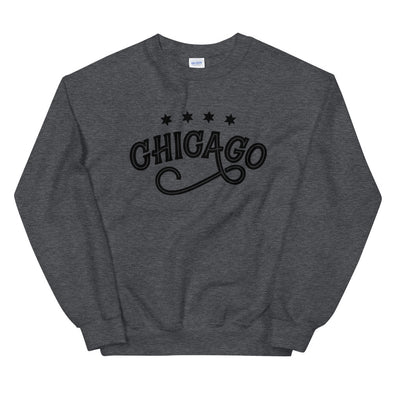 Chicago Swirl Grey Sweatshirt