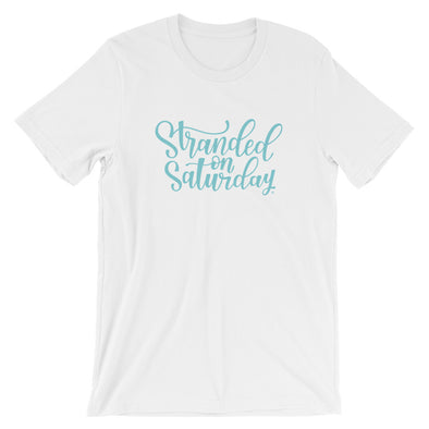 Stranded On Saturday T-Shirt in White