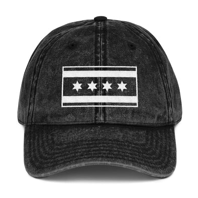 Chicago Flag Vintage Hat