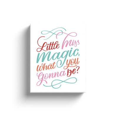 Little Miss Magic Canvas