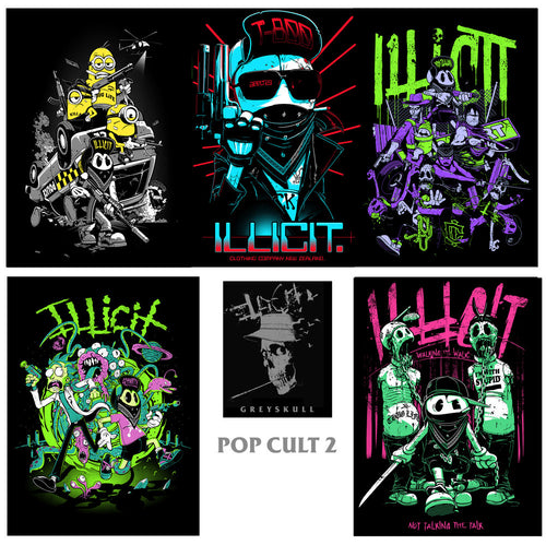 Poster set - Pop Cult 2