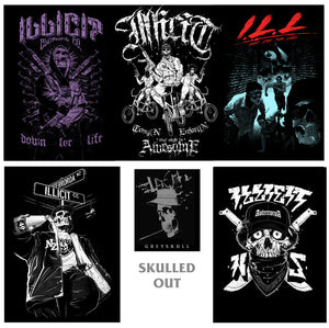 Poster set - Skulled Out