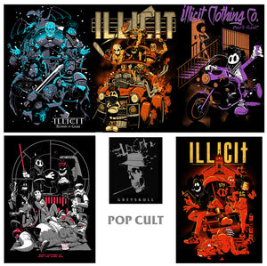 Poster set - Pop Cult