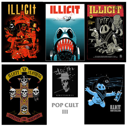 Poster set - Pop Cult 3