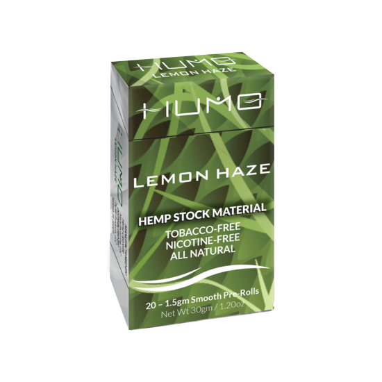 HUMO Hemp Cigarettes, Lemon Haze