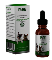 Hemp Extract Pet Supplement - Small Cats and Dogs