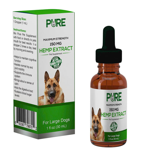 Hemp Extract Pet Supplement