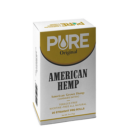 Pure Original Hemp Cigarettes - Packet of 20