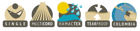 Single hamactex hammock features
