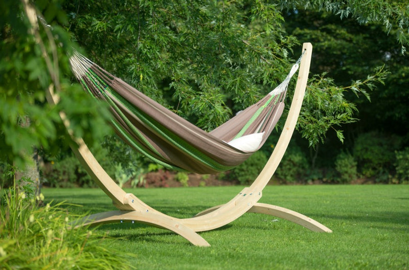 Wooden Hammock Stand UK