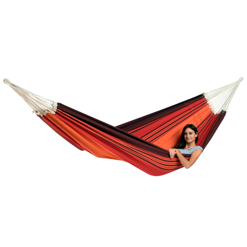 Brazilian Family Hammock - Terracotta