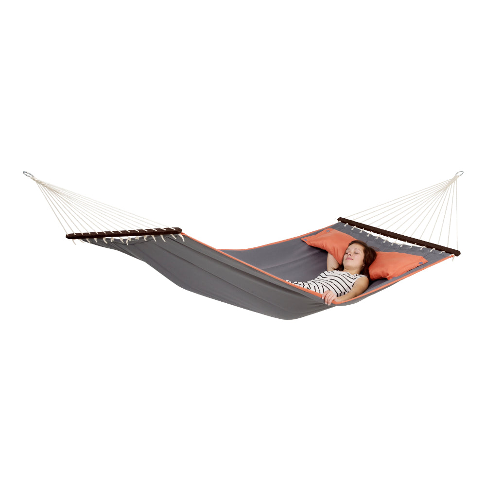 Spreader Bar Hammock - Double Size - Grey