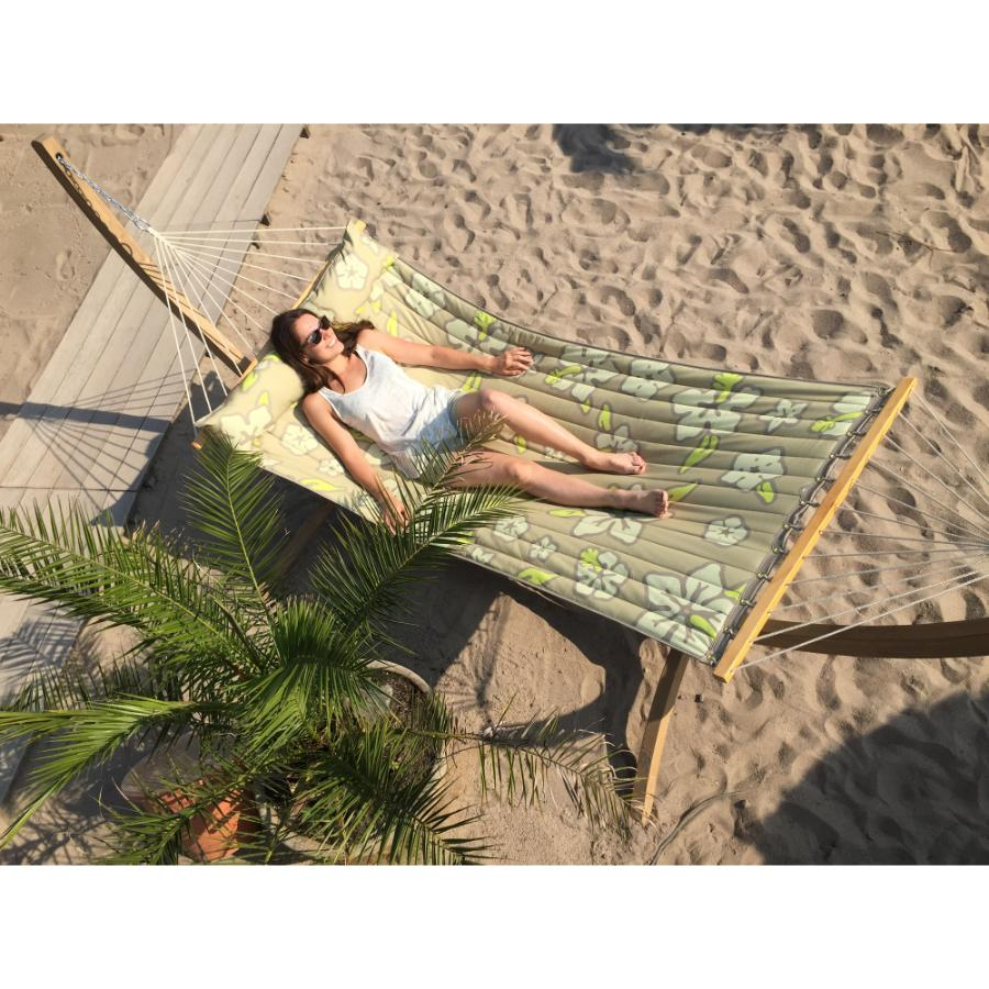 Outside Hammock - Padded Material with Cushion