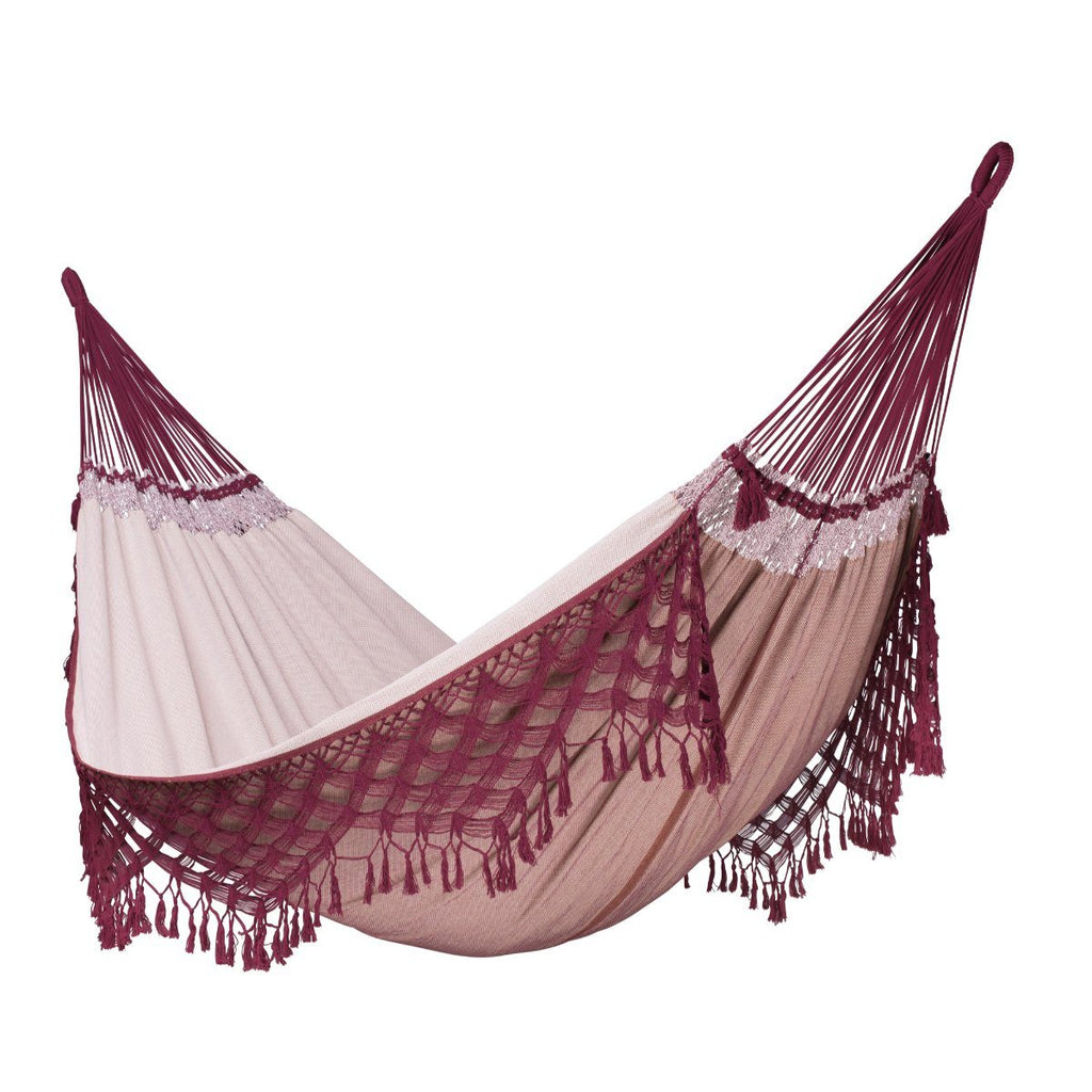 Bordeaux hammock - Brazilian King Size Cotton Hammock