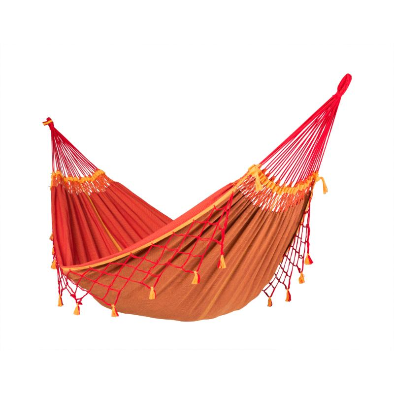 Brazilian two person cotton hammock