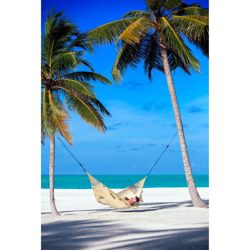 Brazilian white beach hammock