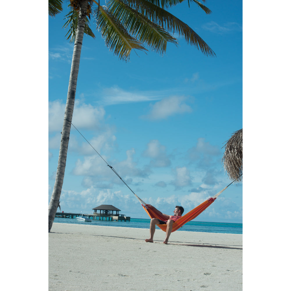 Orange Hammock on Beach