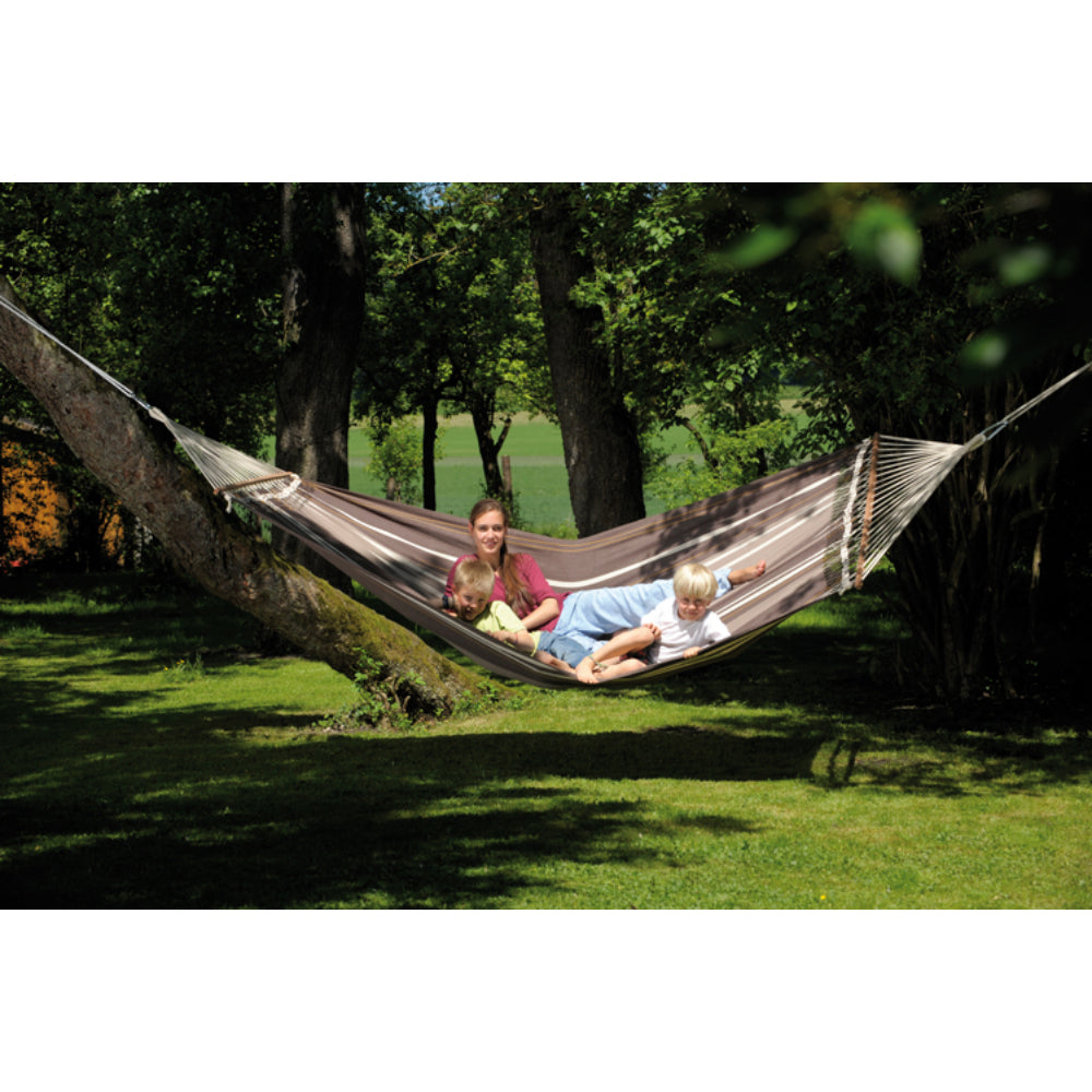 Spreader Bar Hammock - King Size - Palacio Cafe