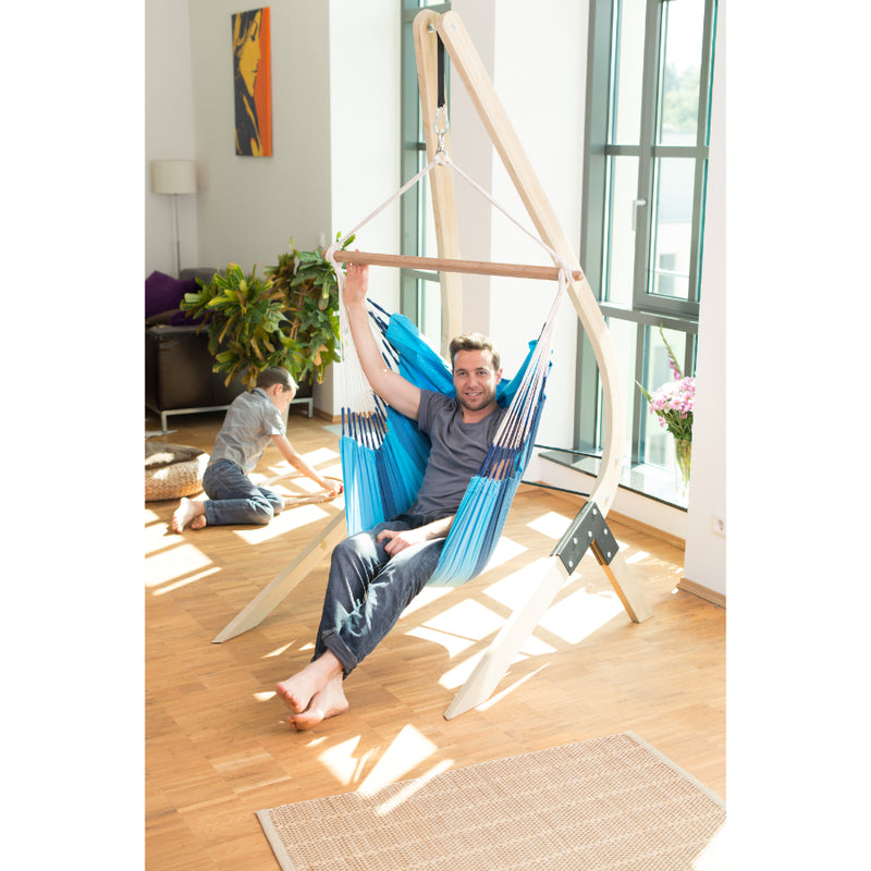 Indoor Chair Hammock on Wooden Stand - not included