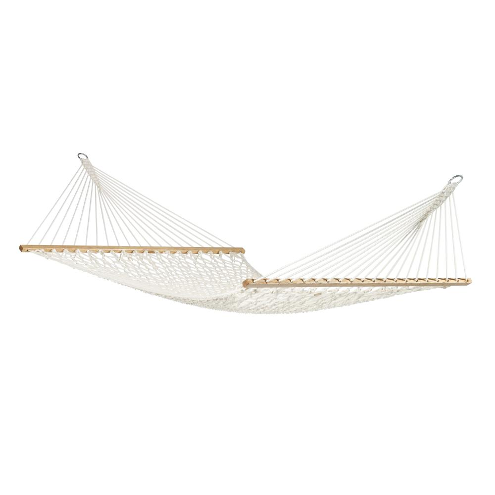 White Cotton Rope Hammock