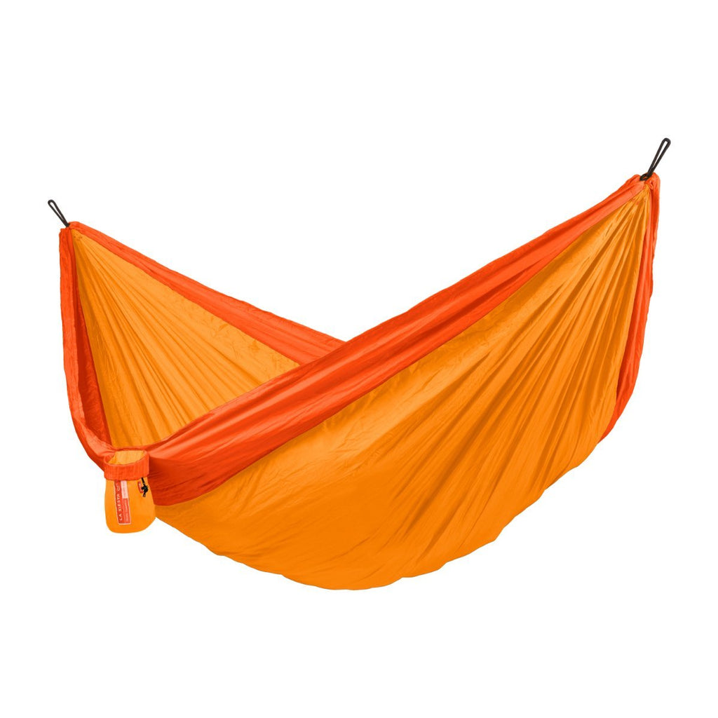 Double Size Nylon Hammock - Orange