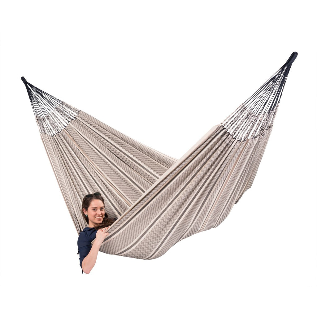 Organic Cotton Family Hammock - Zebra