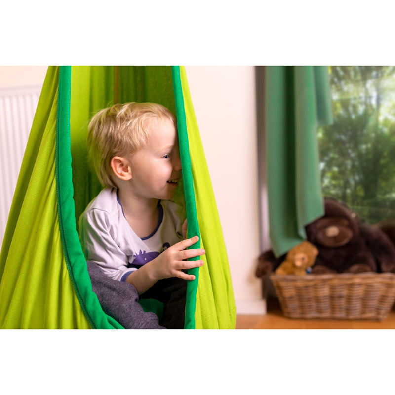 Hanging Nest Pod for Relaxing Children