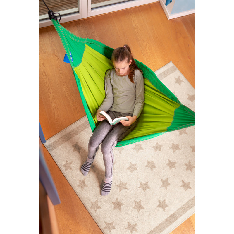 Relaxing children's hammock space