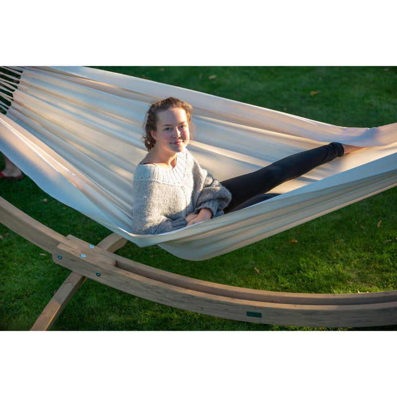 Relaxing White Hammock